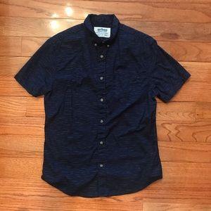 ‼️2/$22 Navy short sleeve button up
